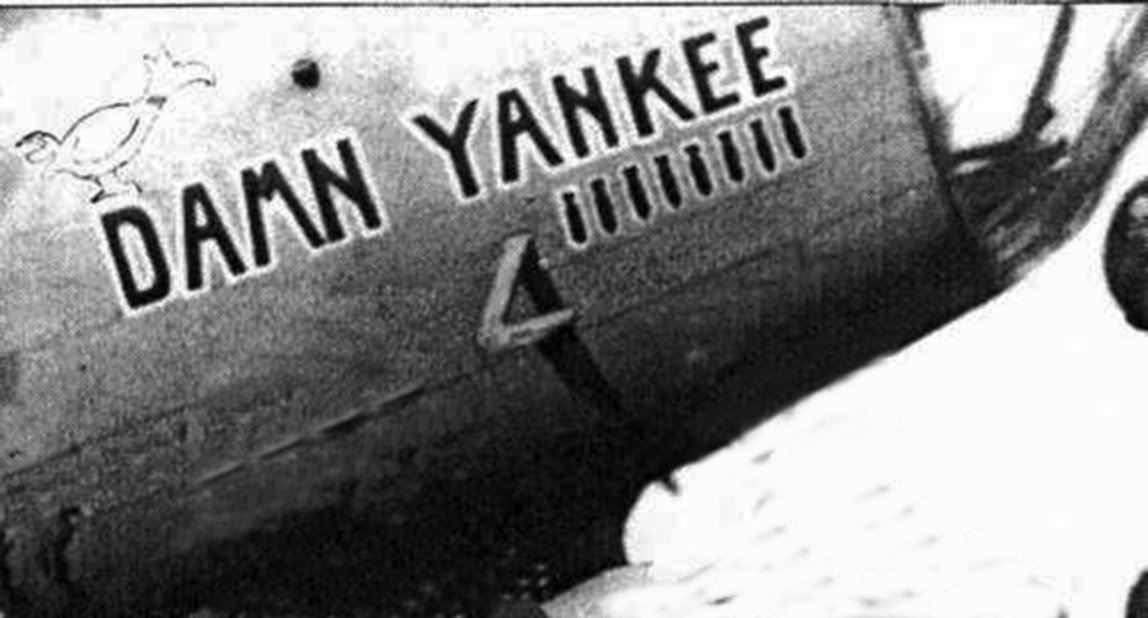 B-17 #41-24557 / Damn Yankee