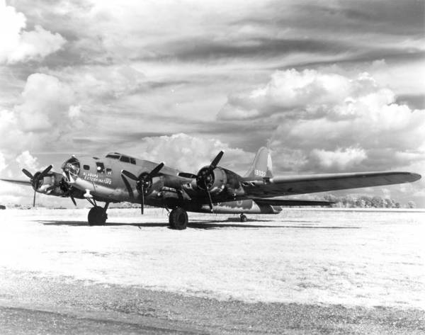 B-17 #41-9022 / Alabama Exterminator II