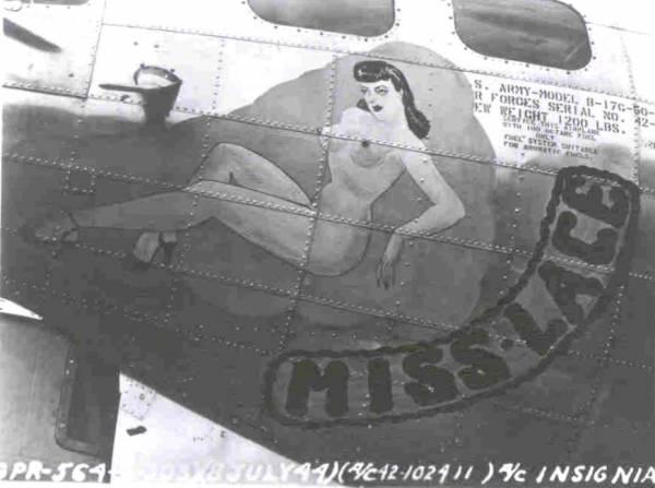 B-17 #42-102411 / Miss Lace