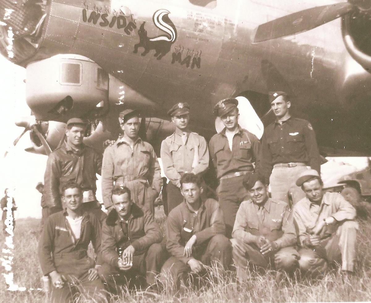 B-17 #42-102493 / Inside Man