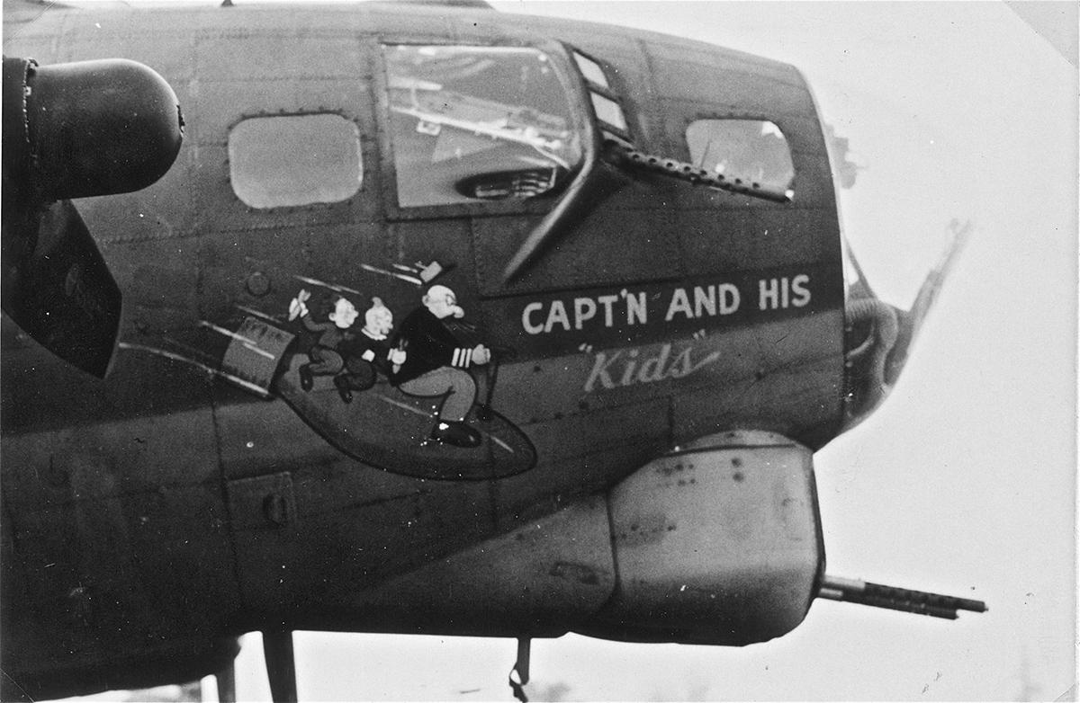 B-17 #42-102896 / Capt'n And His Kids