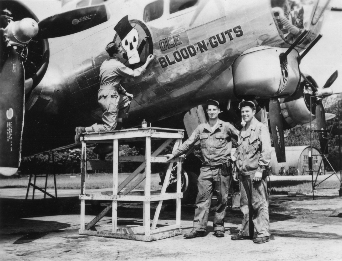 B-17 #42-107078 / Ole Blood 'N' Guts