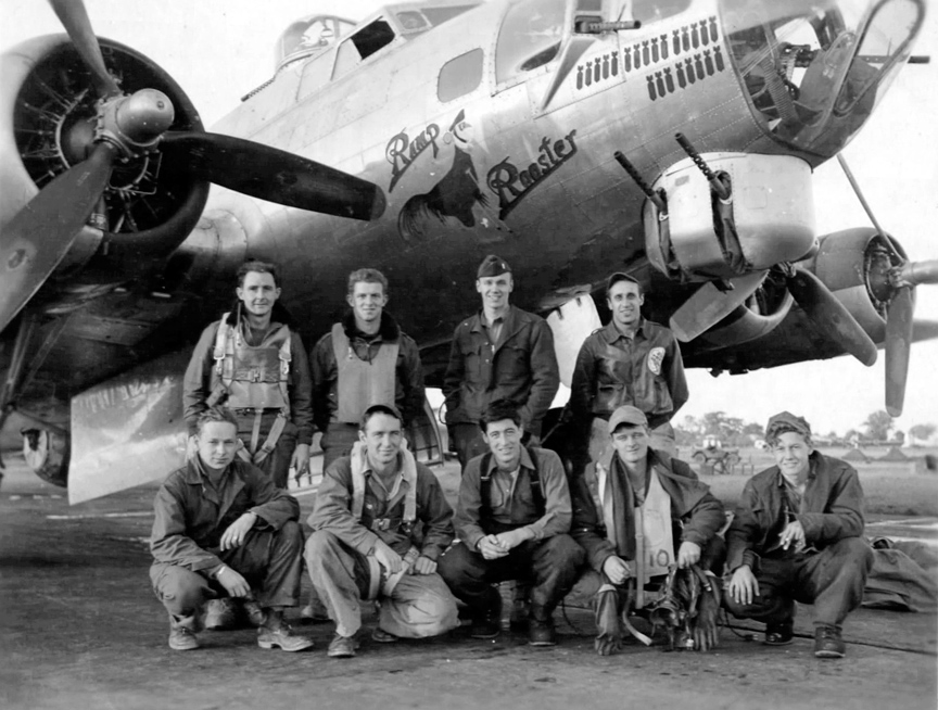 B-17 #42-107188 / Ramp Rooster