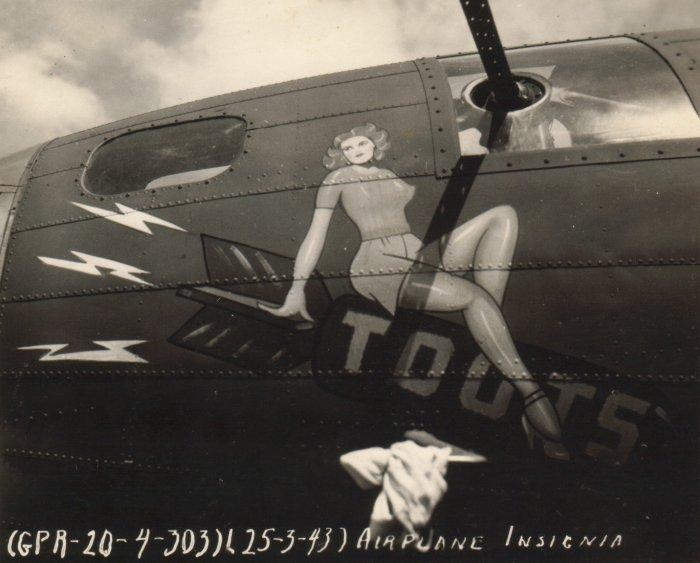 B-17 #42-29606 / Butch aka Toots