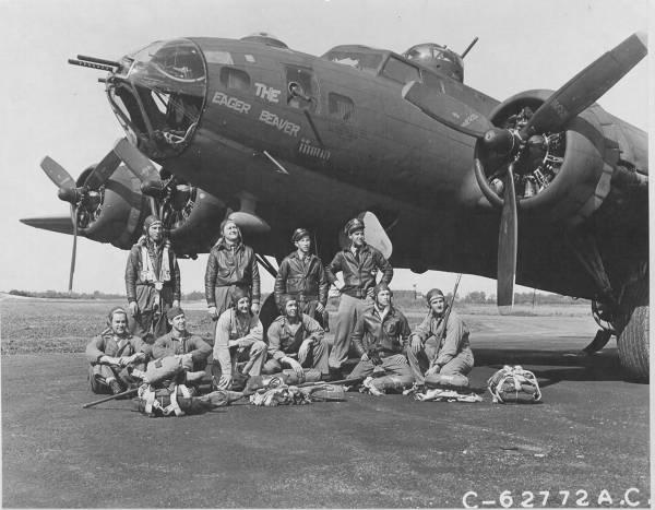 B-17 #42-29816 / The Eager Beaver