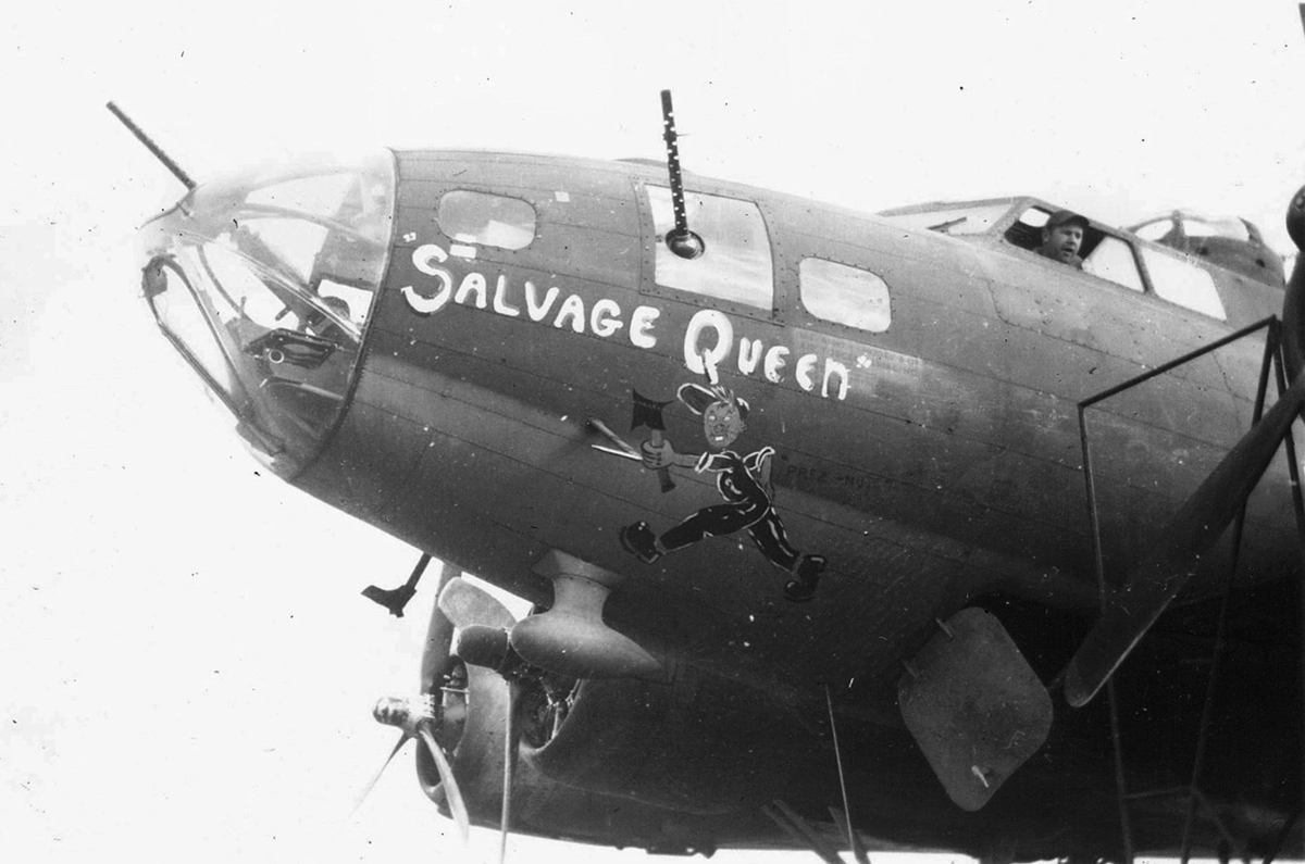 B-17 #42-30005 / Salvage Queen