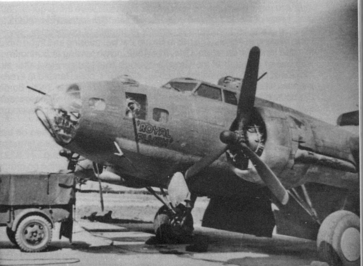 B-17 #42-3024 / Royal Flush