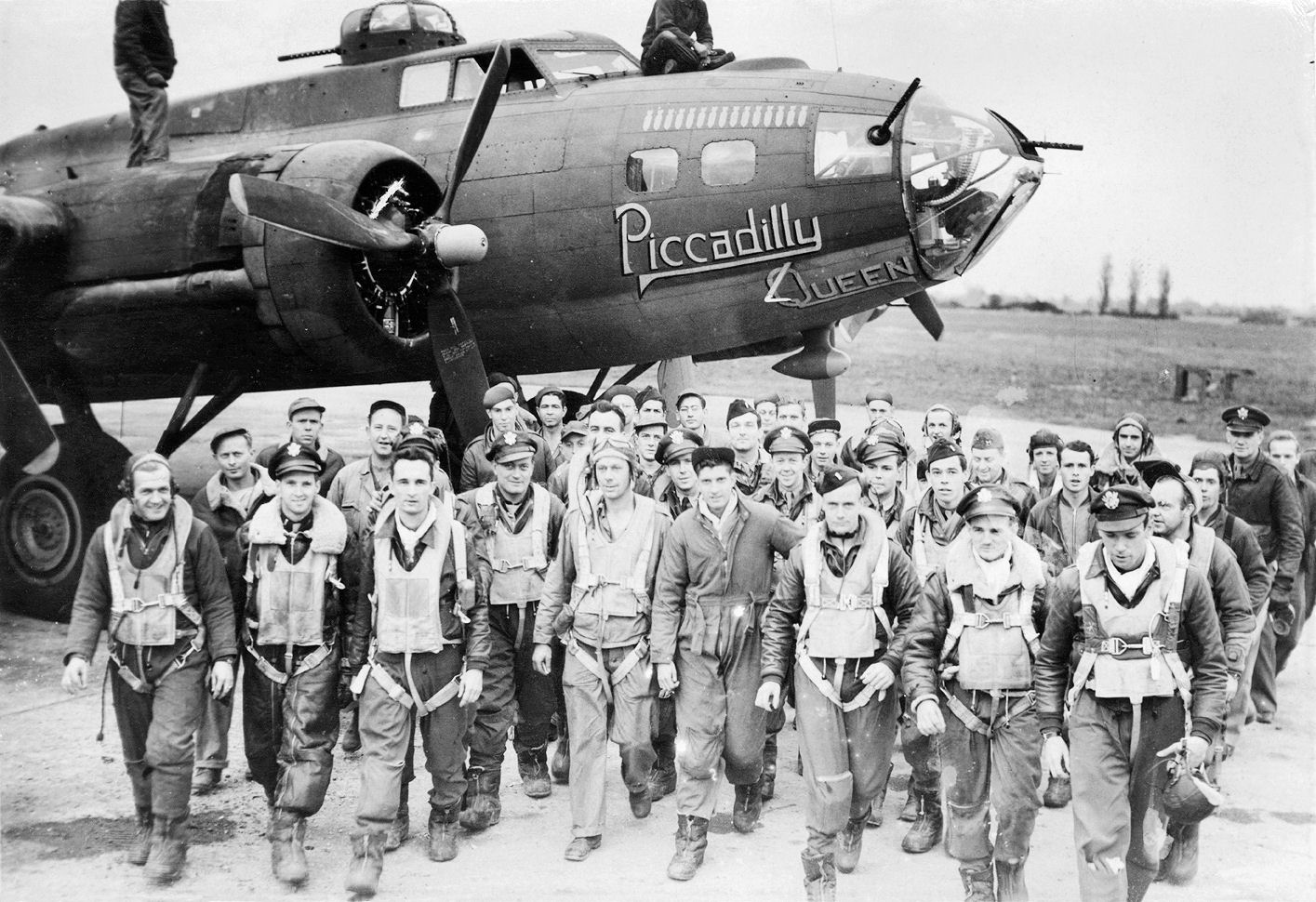 B-17 #42-30251 / Piccadilly Queen