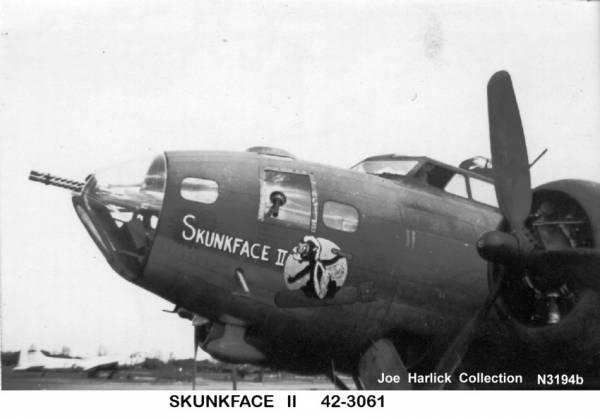 B-17 #42-3061 / Dixie Lee aka Belle of Baltimore II aka Skunkface II