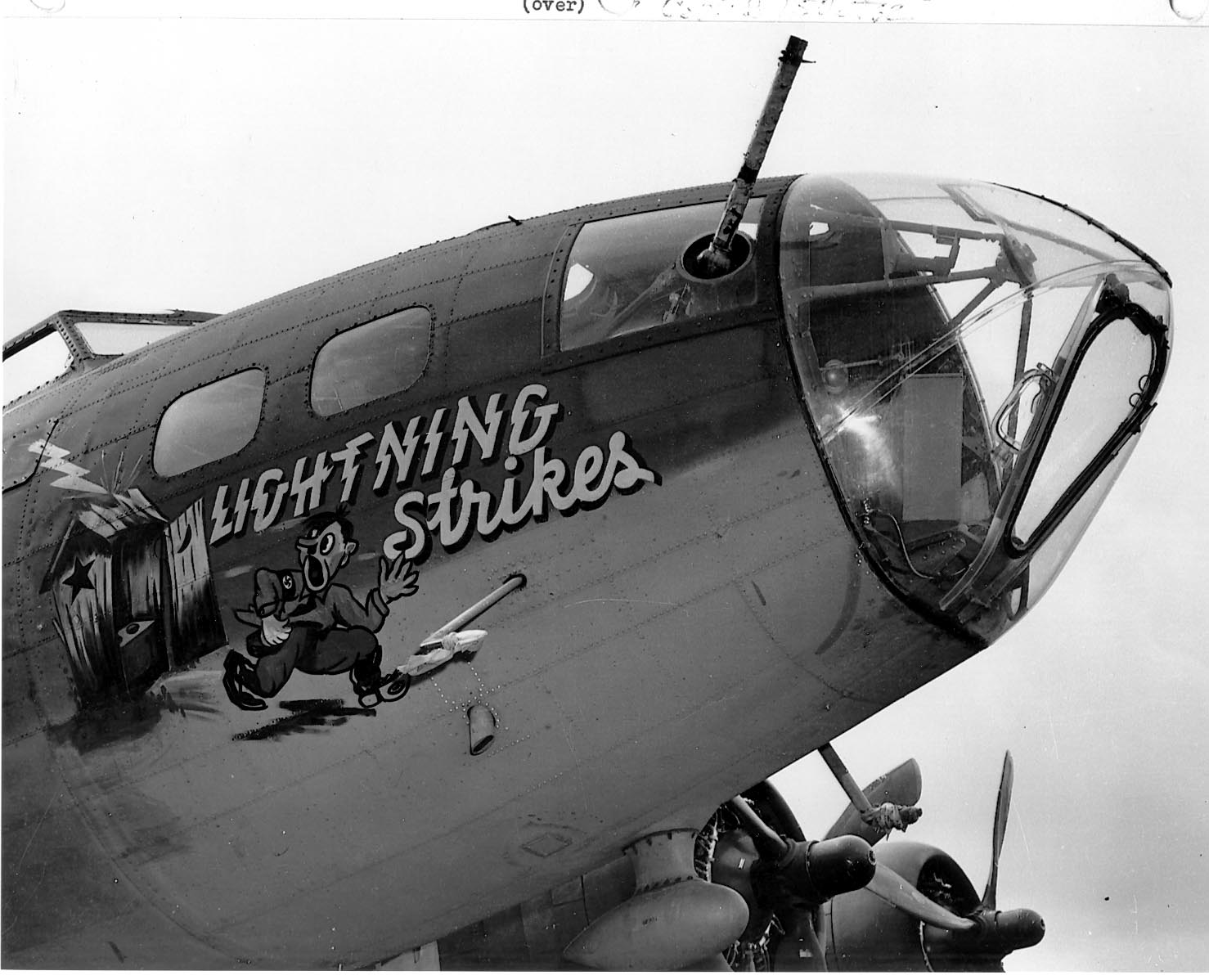 B-17 #42-3073 / Lightning Strikes