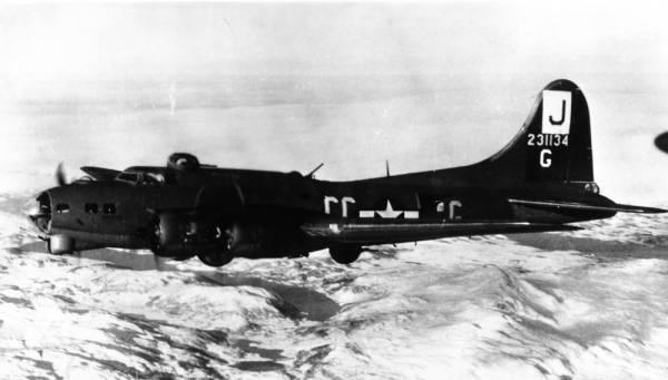 B-17 #42-31134 / Gung Ho