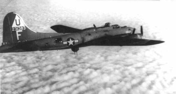 B-17 #42-31383 / American Eagle