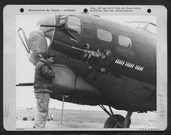 B-17 #42-31452 / Fifty Packin Mama