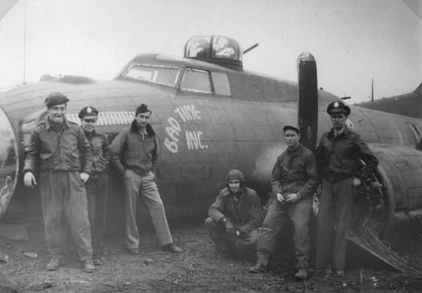 B-17 #42-31545 / Bad Time Inc.