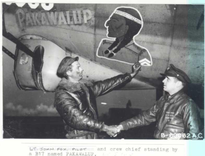 B-17 #42-31630 / Pakawalup