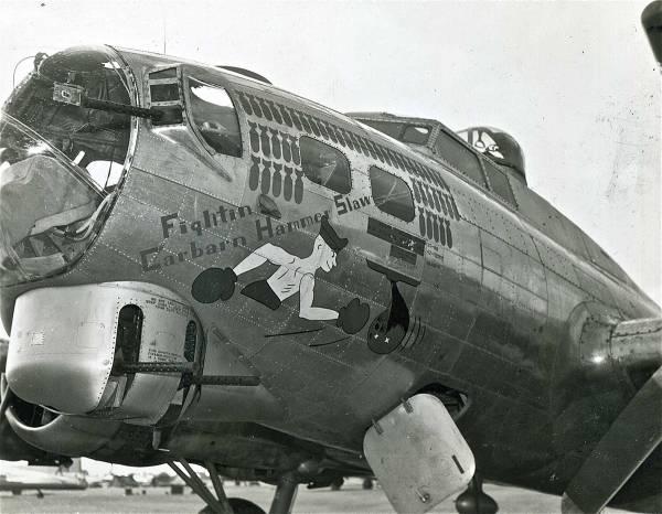 B-17 #42-32099 / Fightin' Carbarn Hammerslaw
