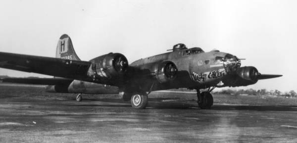 B-17 #42-3285 / Mary Ellen
