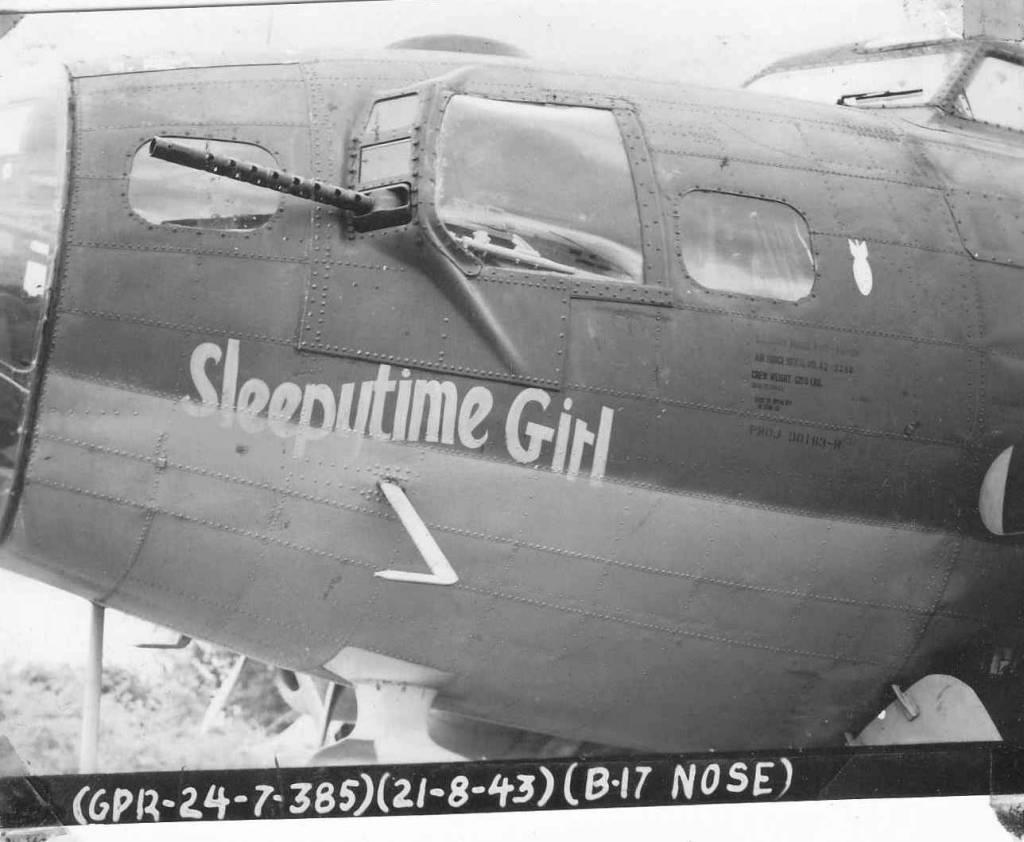 B-17 #42-3388 / Sleepytime Girl
