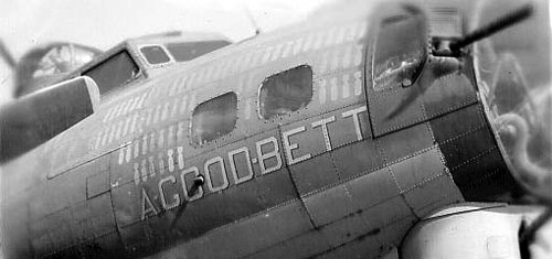 B-17 #42-37882 'Hard Time' aka 'A-Good-Bett' aka 'Blues in the Reich'