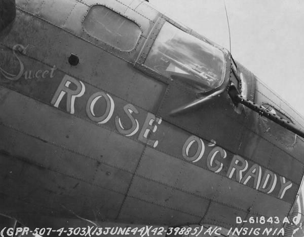 B-17 #42-39885 / Sweet Rose O'Grady