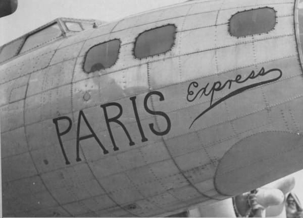 B-17 #42-40001 / Paris Express