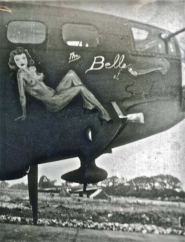 B-17 #42-5054 / Belle of San Joaquin