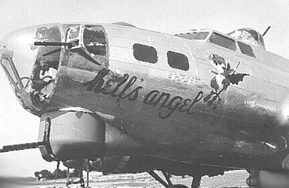 B-17 #42-97265 / Hell's Angel