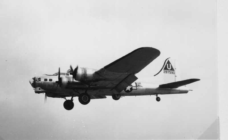 B-17 #42-97590 / Virgin Mary