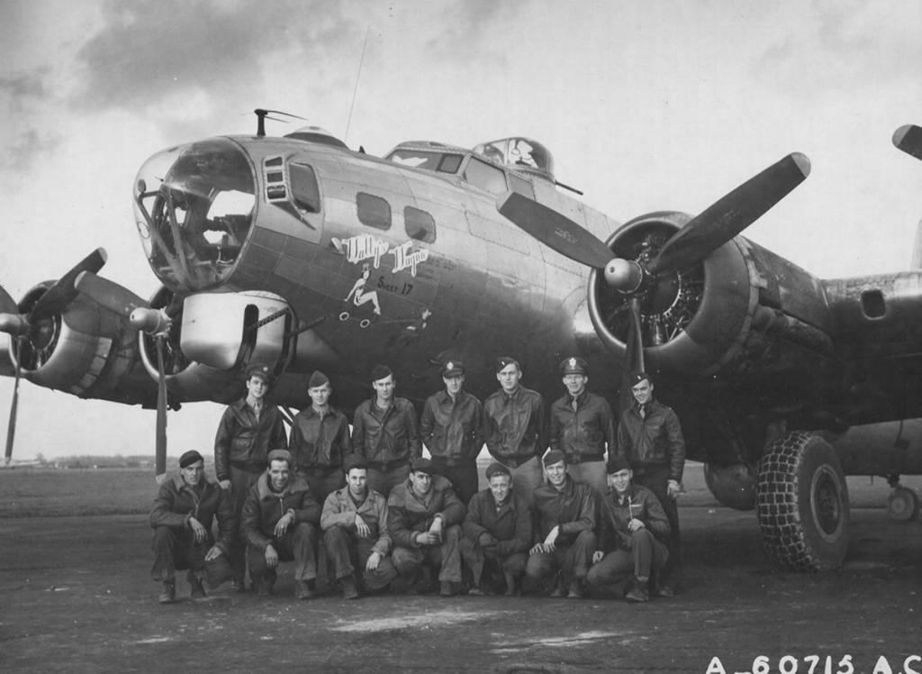 B-17 #43-37827 / Wally's Wagon Sweet 17