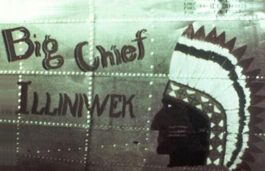 B-17 #43-38067 / Joyride aka Big Chief Illiniwek