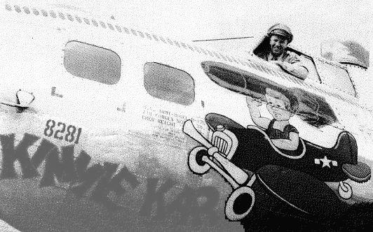 B-17 #43-38281 / Kimmie Kar for 9