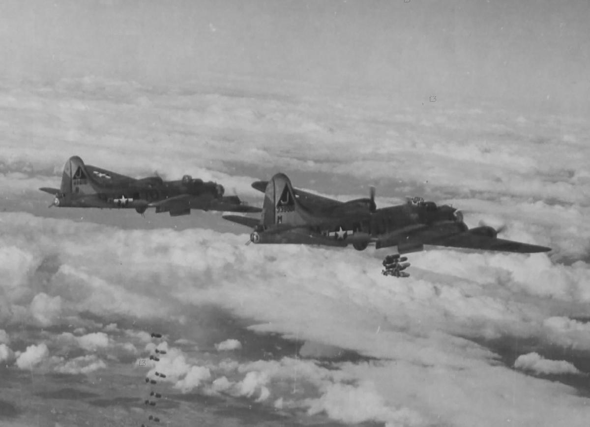 B-17 #43-39001 / Coup de Grace II