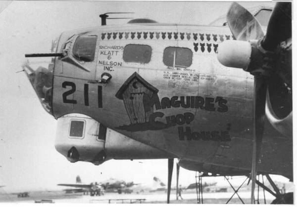 B-17 #43-39211 / Maguire's Chop House