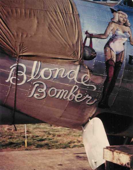 B-17 #44-6307 / Blonde Bomber