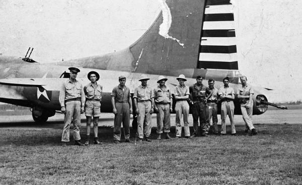 B-17 #41-2416 / San Antonio Rose