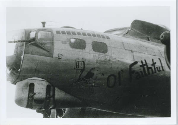 B-17 #42-102626 / The Worry Bird aka Ol' Faithful