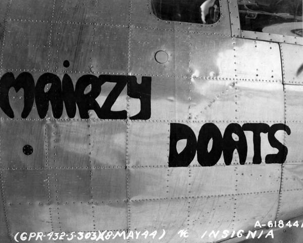 B-17 #42-107002 / Mairzy Doats