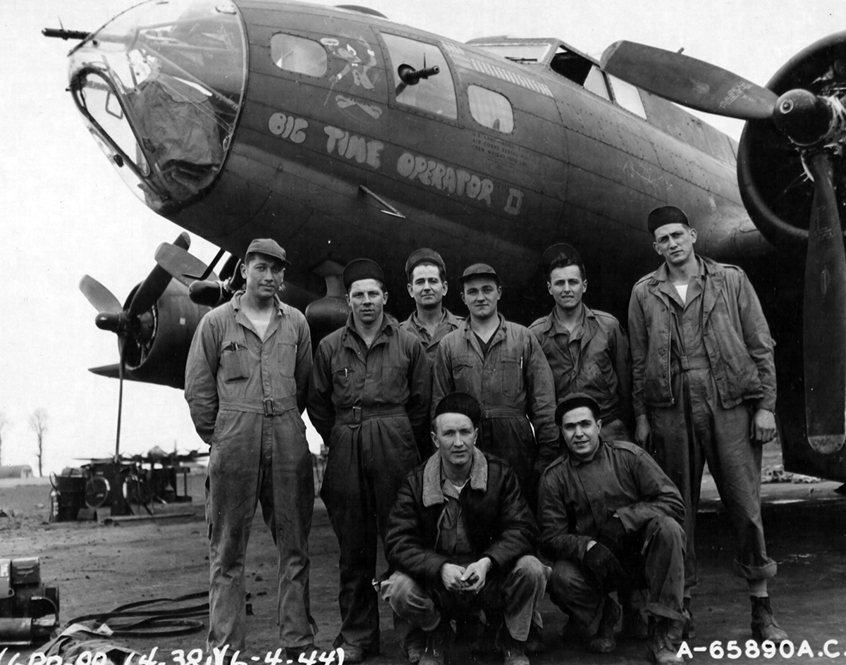 B-17 #42-29570 / Big Time Operator II