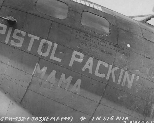 B-17 #42-31213 / Pistol Packin' Mama
