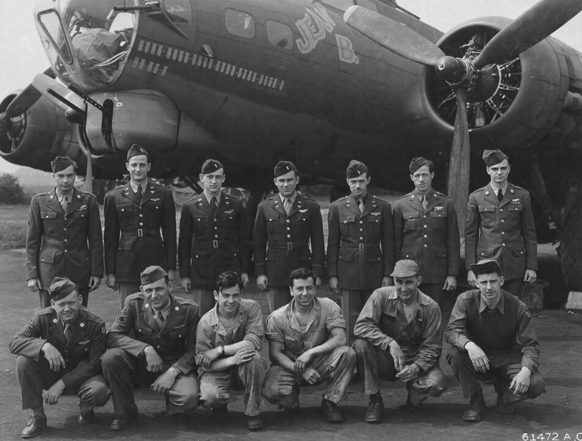 B-17 #42-31536 / Irene aka Jean B