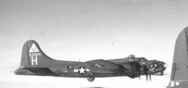 B-17 #42-31615 / Snafusk Shamrock