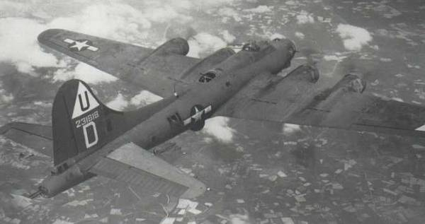 B-17 #42-31618 / Our Baby