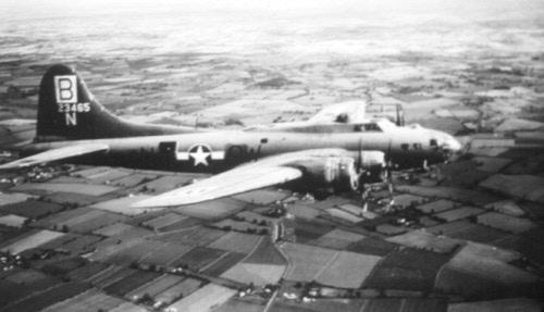 B-17 #42-3465 / Wee Bonnie