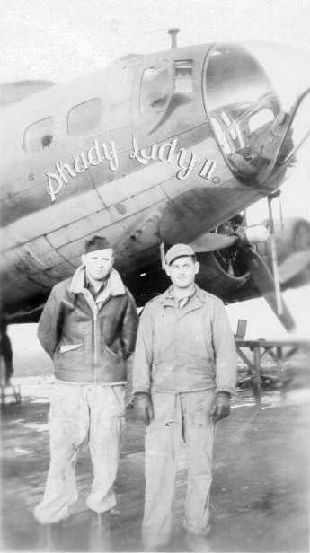 B-17 #42-3542 / Shady Lady II