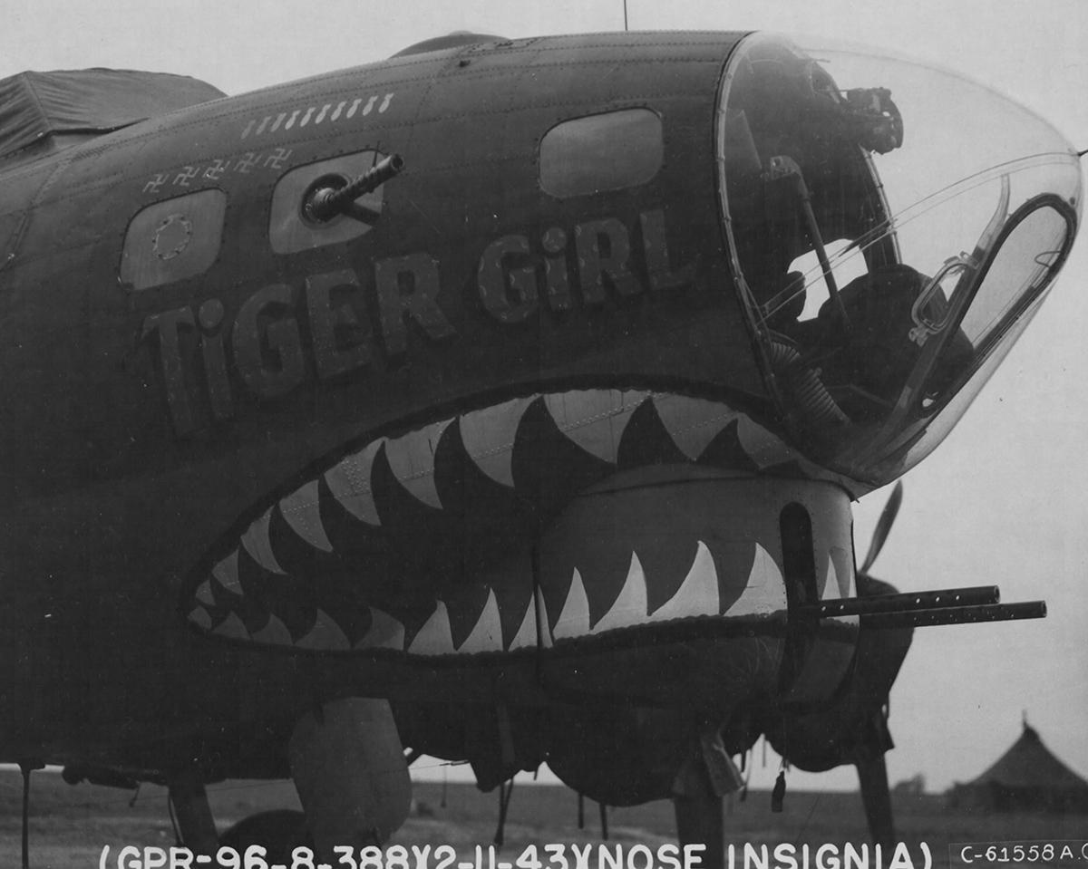 B-17 #42-3555 / Tiger Girl