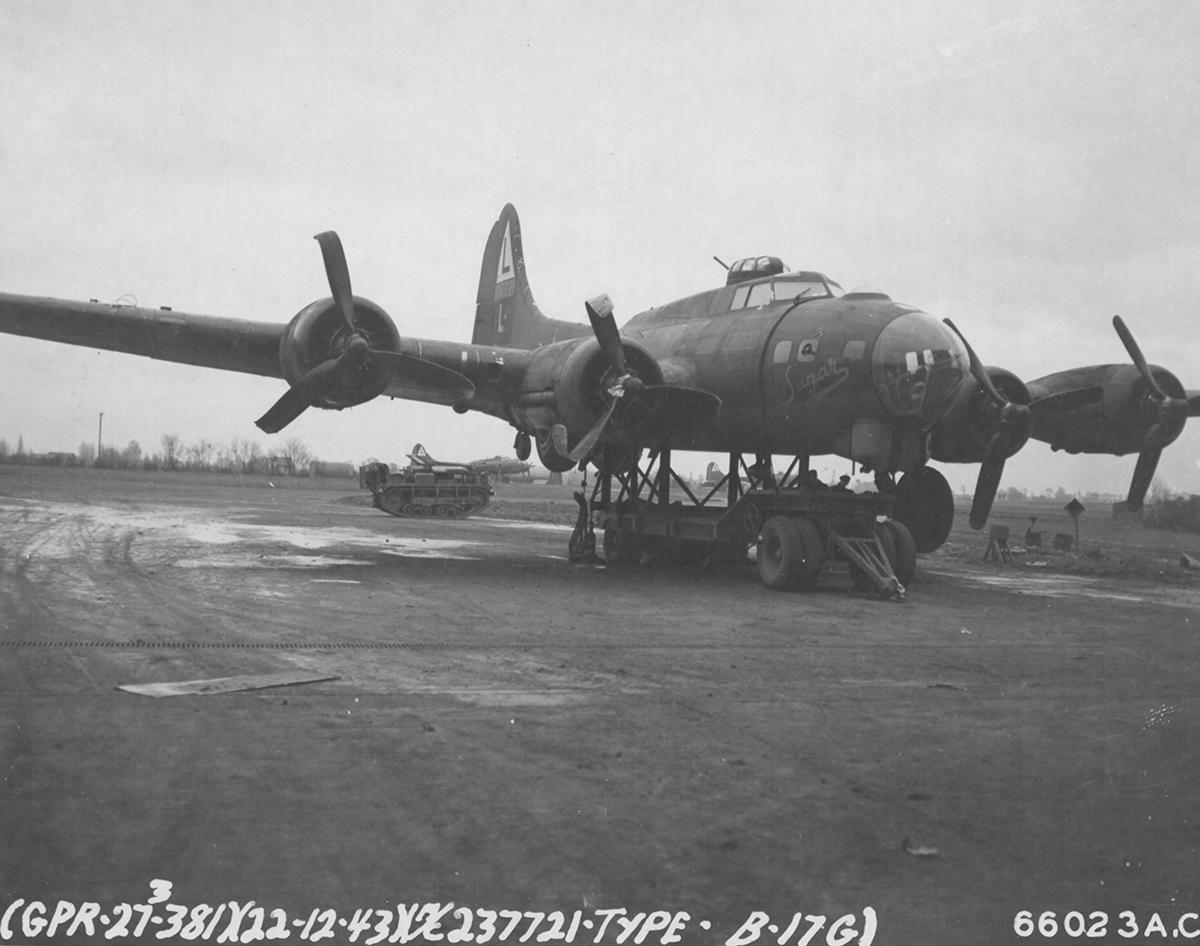 B-17 #42-37721 / Sugar