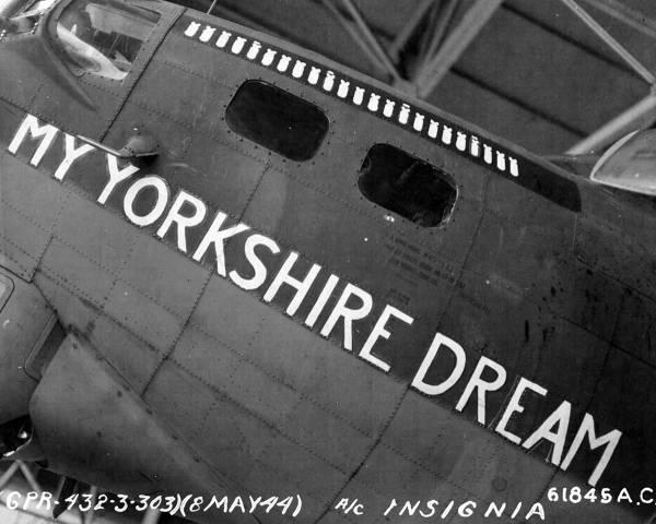 B-17 #42-38051 / My Yorkshire Dream