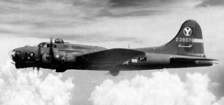 Boeing B-17 #42-38078 / Sweet Pea