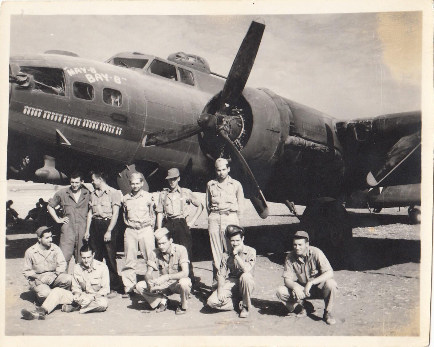 B-17 #42-5870 / May-B Bay-B