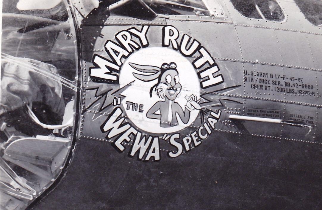 B-17 #42-6080 / Floozie Flossy aka Mary Ruth the WeWa Special